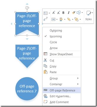 visio on page reference exle the page reference hyperlink url safe bvisual