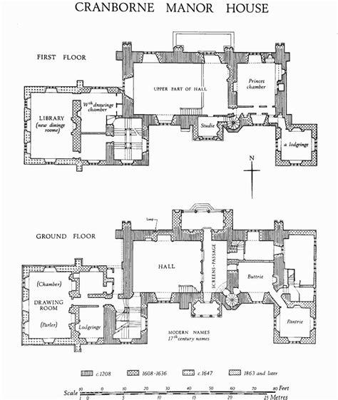 19th century manor house floor plans