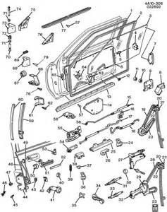 1991 Buick Century Parts Door Hardware Front