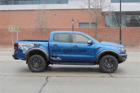 ford ranger raptor ford ranger raptor spotted testing on michigan streets