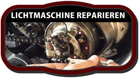Oldtimer Motorrad Lichtmaschinen Reparatur by Motorrad Lichtmaschine Pr 252 Fen Und Reparieren Dkw Rt 125