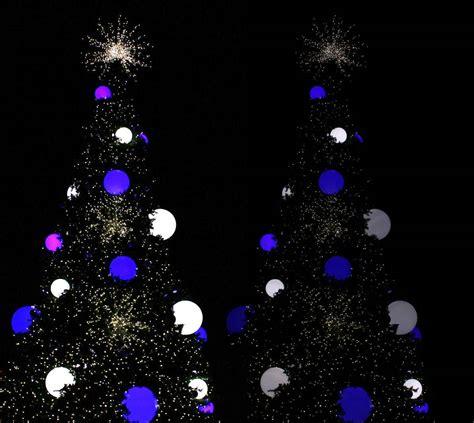 settings to capture christmas lights outdoors