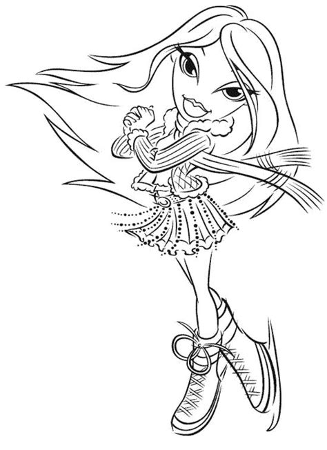 coloring page bratz coloring pages learn to coloring