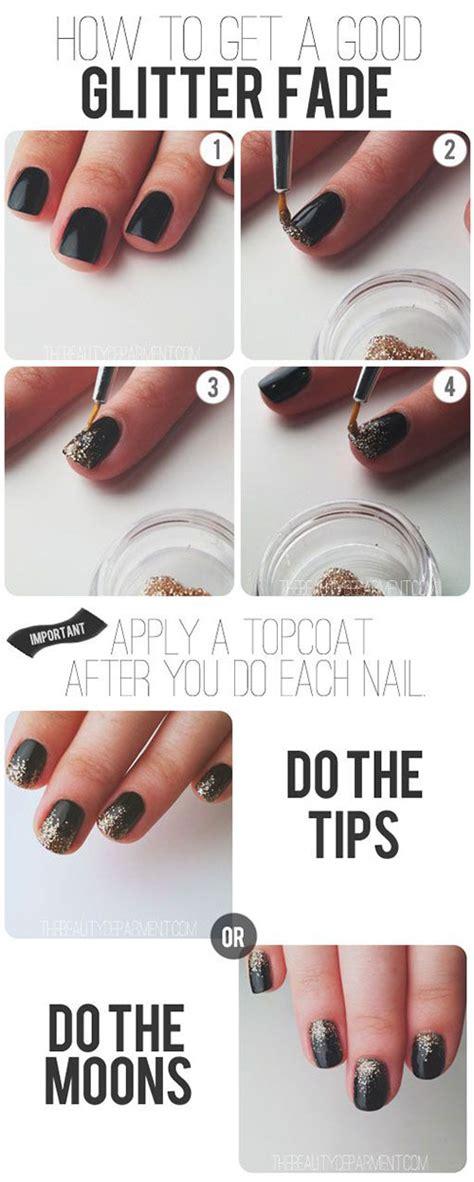 new year nail diy step by step happy new year nail tutorials for