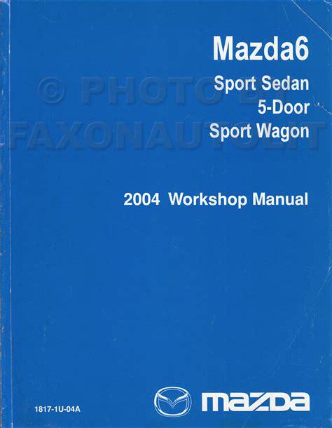 book repair manual 2004 mazda mazda6 interior lighting 2004 mazda 6 repair manual