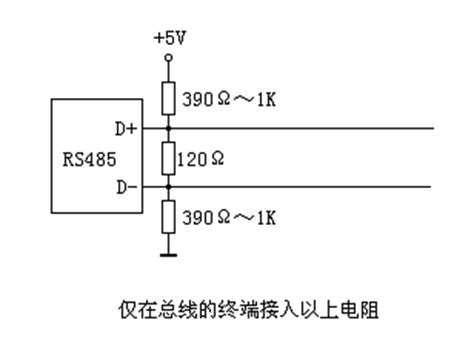 pull up resistor network modbus pull up resistor 28 images the dci a rs485 home network modbus 筆記之二 8051動手做 實作班 隨意窩