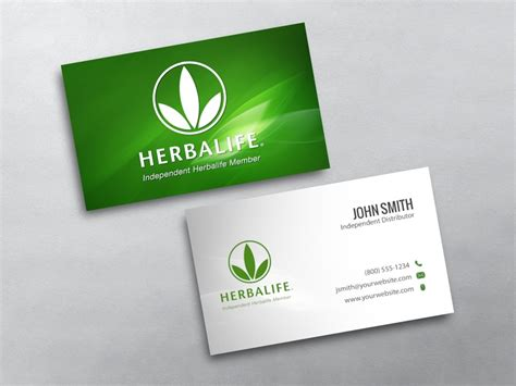 Business Card Templates Herbalife by Herbalife Business Cards Free Shipping