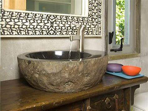 stones in bathroom sink is a stone sink right for your kitchen diy