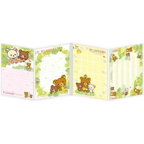 Memopad Nota Mini Nota Burger mini libro con tacos de notas lindos amigos rilakkuma bosque miel flor de san x blocs de notas