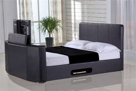 bed frame with tv mount amazing bed frame with tv lift you in footboard mount