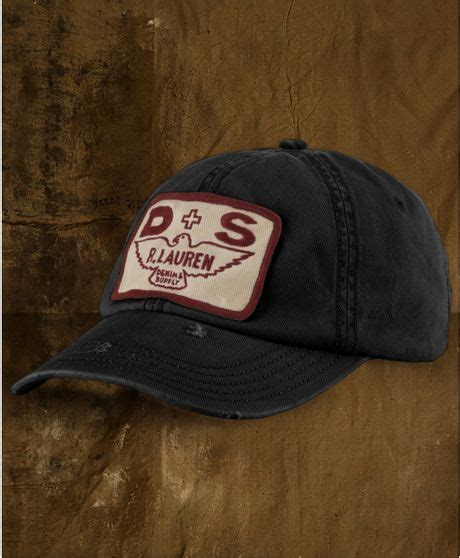 Terbaru Topi Baseball Polos Cotton Twill denim supply ralph cotton twill logo patch baseball cap in black for polo black