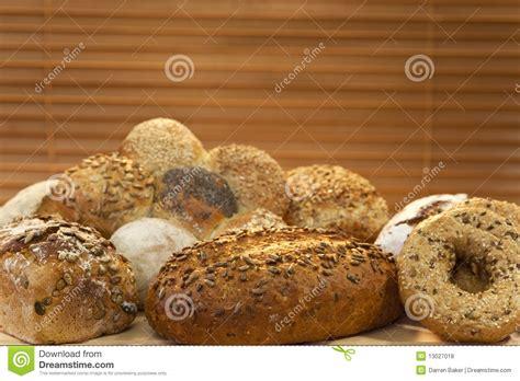 Handmade White Bread - seeded wholemeal bread stock photography cartoondealer