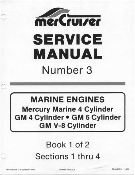 Mercury Mercruiser Marine Engine Mcm 260 Service Repair