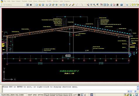 contoh desain gudang baja konvensional contoh desain gudang