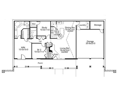 earth shelter underground floor plans eplans country house plan earth berm home with style