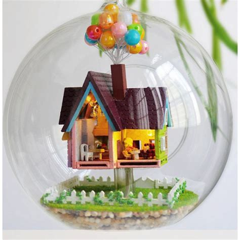 Film Up Gifts | up the movie inspired voice control diy miniature house