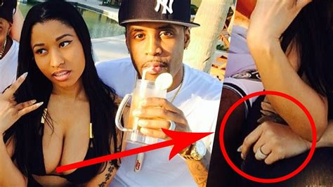nicki minaj engaged to safaree samuels youtube