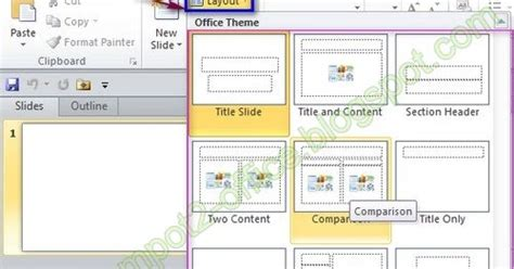 fungsi layout di powerpoint mengatur layout pada ms powerpoint 2010 multi contents
