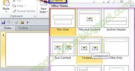 pengertian layout pada powerpoint mengatur layout pada ms powerpoint 2010 multi contents