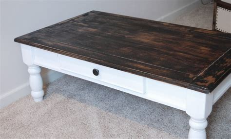 Refinish Coffee Table Craft Pinterest How To Refinish A Coffee Table Top