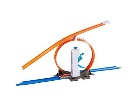 Mainan Anak Wheels Track Builder Loop Launcer Dmh51 zestawy do rozbudowy autko loop launcher hotwheels dnh84 dmh51 sklep internetowy yellowhead