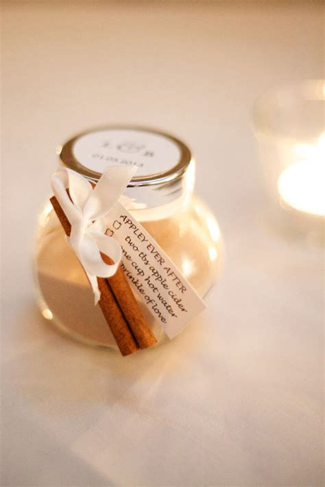 Fall Wedding Favors by Sparkly Gold Winter Wedding At Brix Restaurant Winter
