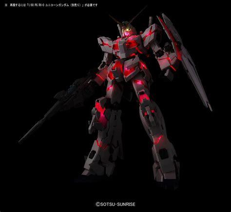 Pg Armor Unit For Unicorn Gundam Bandai bandai hobby pg led unit for rx 0 unicorn gundam model kit 1 60 scale sure thing toys