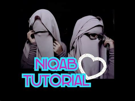tutorial niqab heliza helmi niqab tutorial with eye veil eye cover doovi