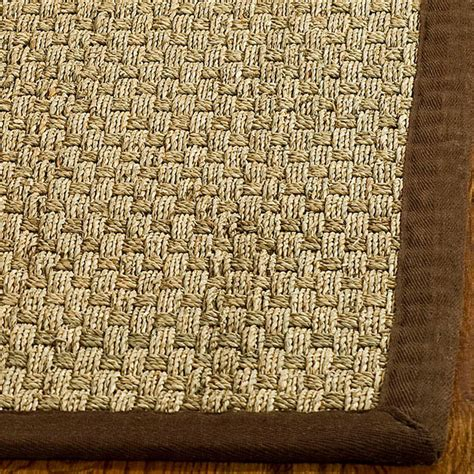 woven seagrass rug safavieh woven sisal brown seagrass runner 2 6 x 16 contemporary rugs by