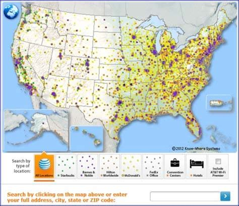 at t hotspot map find an at t wi fi hotspot at t wireless support