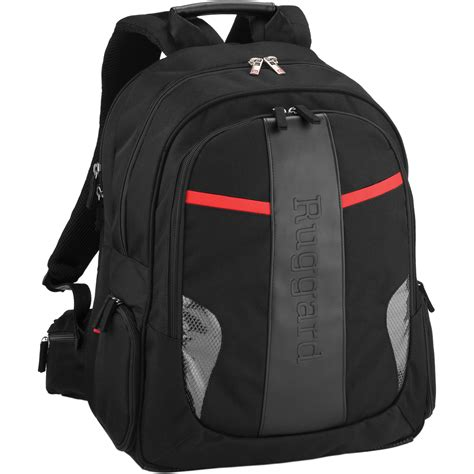 ruggard red series ruby 33 tech backpack cbb 3b b h photo