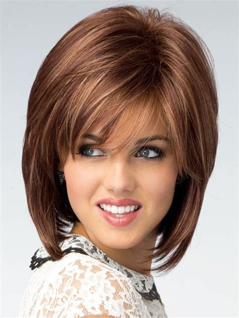 Wigs For Women Over 50 With A Round Face | wigs for women over 50 with a round face short hairstyle