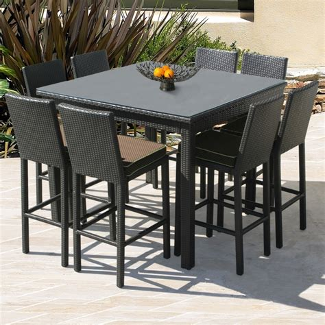 Balcony Height Patio Table Counter Height Patio Table