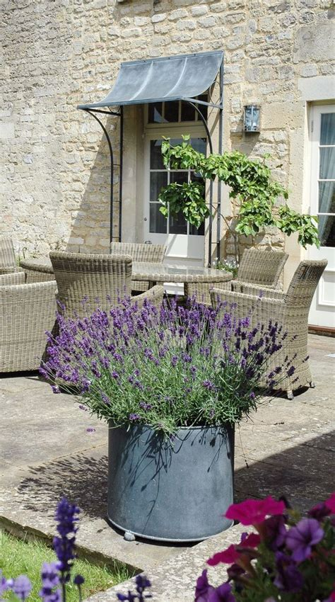 large garden planters metal planters and planter pots on