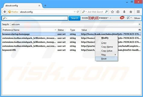 Url Address Finder How To Get Rid Of Your Template Finder Toolbar Virus Removal Guide