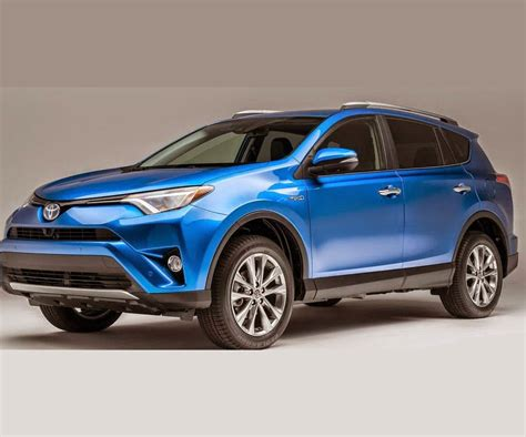 toyota rav 2017 toyota rav4 release date redesign and pictures