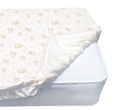 Amazon Com Serta Perfect Crib Mattress Cover Balance Mattress Pad For Crib