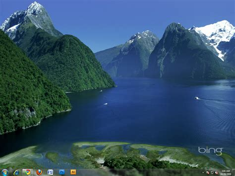 bing fotos windows 7 themes desktop backgrounds