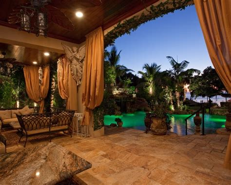 Tropical Patio Patio Yard Inspiration Pinterest Tropical Patio Design
