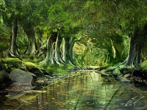 jungle painting jungle matte painting by rulartist d56nx86 jpg 4096 215 3072