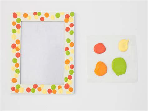 photo frame crafts for s day craft fingerprint frames hgtv