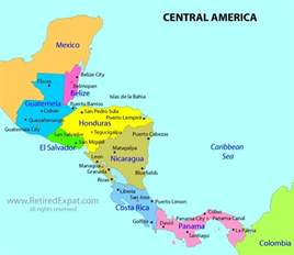 a map of central and south america plus de 1000 id 233 es 224 propos de what where central