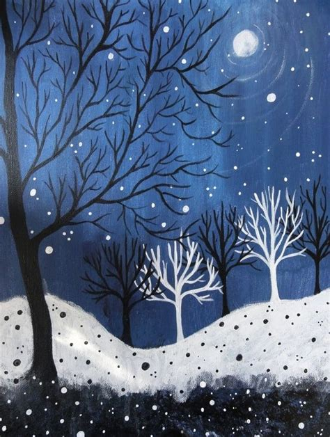 valuable inspiration 7 how to draw a blue print make your own 365 days of winter acrylic painting craft ideas