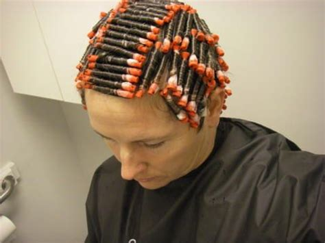 my first feminine hair perm i can t wait for my christmas perm its booked for the