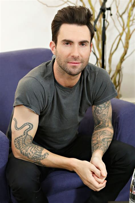adam levine tiger tattoo adam levine the ultimate gallery