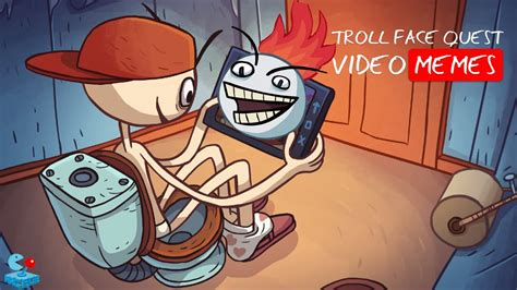 Meme Quest - troll face quest video memes walkthrough all levels youtube