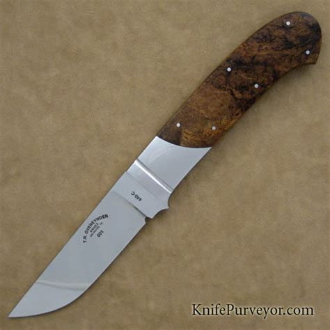 Tom Handcrafted Knives - tom overeynder stabilized mesquite burl 001