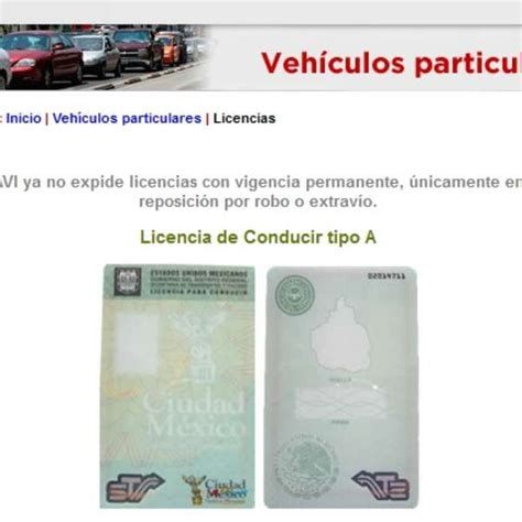 licencia de conducir mexico df 191 c 243 mo reponer licencia de manejo con vigencia permanente