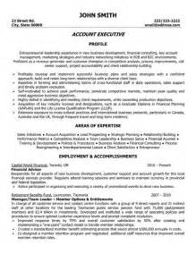 Resume Templates For And Gas Industry by Account Executive Resume Template Premium Resume Sles