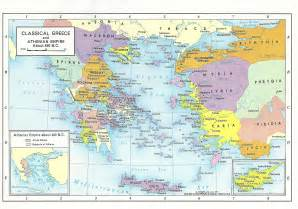 Map Of Classical Greece by Handouts